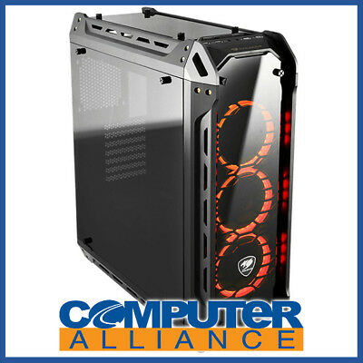 Cougar ATX Panzer-G Four Sided Tempered Glass Case (No PSU)