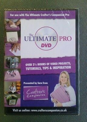 crafter's companion the ultimate pro dvd new and sealed