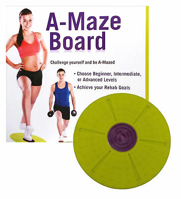 PhysiPod Fitness Training Workout Adult-A-Maze Twist Balance Board