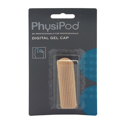 PhysiPod Silicone Gel Digital Caps Finger and Toe Elastic Fabric Protector