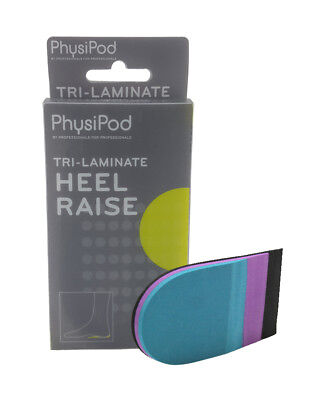 PhysiPod Shoe Insoles Cushion Height Increase Heel Inserts Taller Lifts Pad