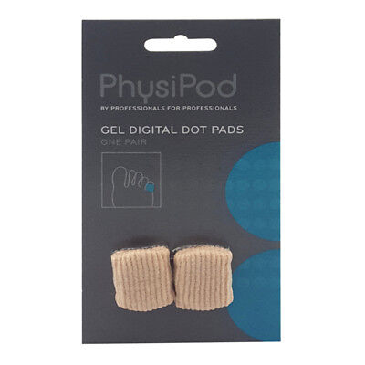 PhysiPod Gel Fabric Tube Sleeve Bandage Toe Protector Foot Care Pain Relief