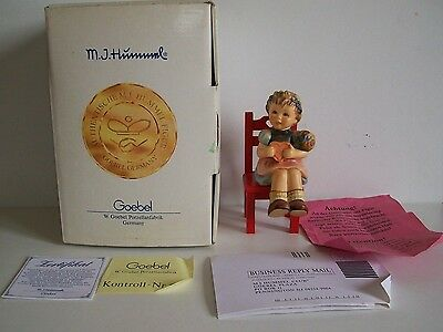 Goebel Hummel No. 698 - Heart's Delight - First Issue - Boxed