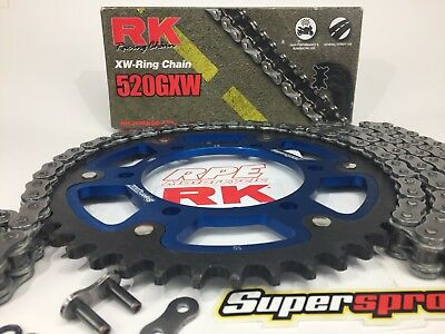 Gold Stealth sprocket New Supersprox 45T for Yamaha  YZF-R1 50th 06
