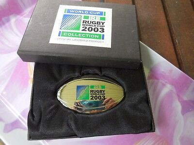 Collectable  Official Rugby League Irb World Cup 2003, Bottle Opener, Boxed
