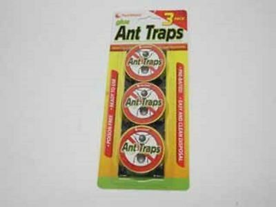 WA Stock 12 packs of 3 glue ant trap cockroaches insects control around your hom