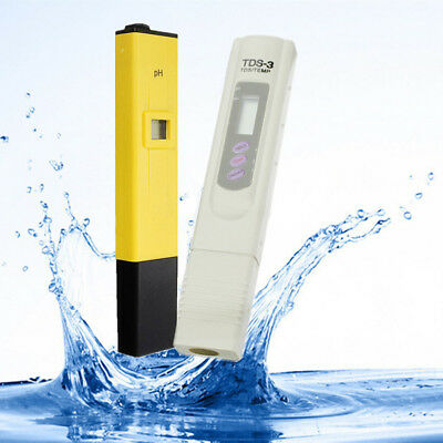 Digital TDS LCD PH Meter Water Purity PPM Filter Hydroponic Pool Tester