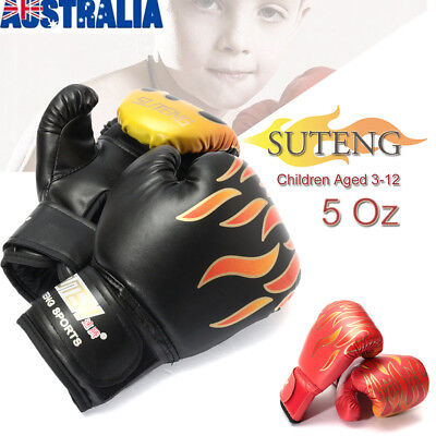 ☆ MMA Kick Boxing Gloves Children Kids Sparring Punching Child Training Coaching