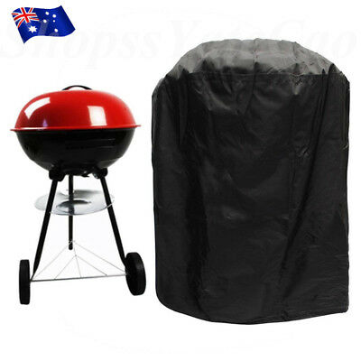 Waterproof Barbecue BBQ Cover Grill Outdoor Gas Dust Rain Protector Round 80*57