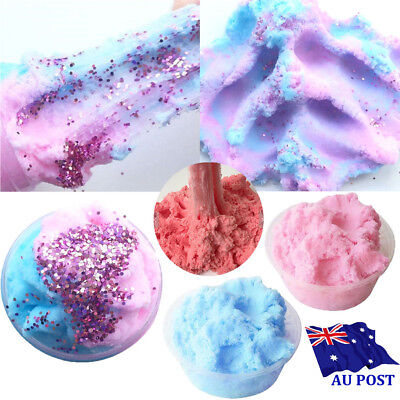 Fairy Floss Cloud Slime 50g Reduced Pressure Mud Stress Relief Kids Clay Toy MN