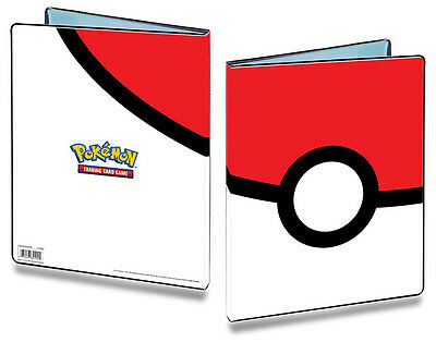 Pokeball Pokemon 9-Pocket Portfolio/Folder A4 Holds 180 Cards Doubled