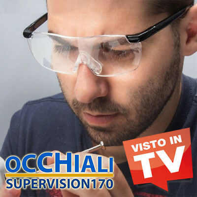 Occhiali Supervision 170 Lente Di Ingrandimento Visto In Tv