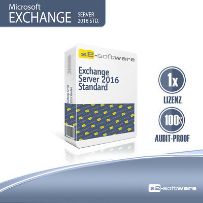 Microsoft Exchange Server 2016 Device CAL | 100% sicher | inkl. Support