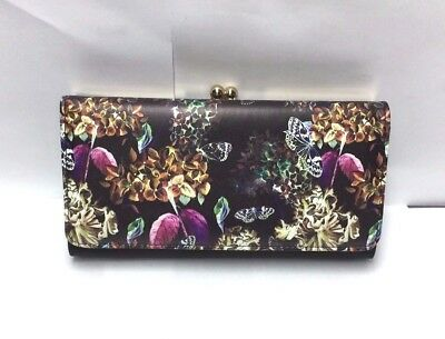 New Ladies Fashion Purse With Butterfly/Flower Print