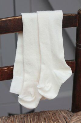 Natures Purest Natural Organic Cotton Cream Tights 0-3 Months - (0010A)