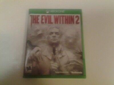 Evil Within 2 (Microsoft Xbox One, 2017) Perfect Condition! FREE SHIPPING!!!