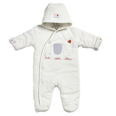 Natures Purest My First Friend Elephant Snowsuit - 3-6 months (0187B)