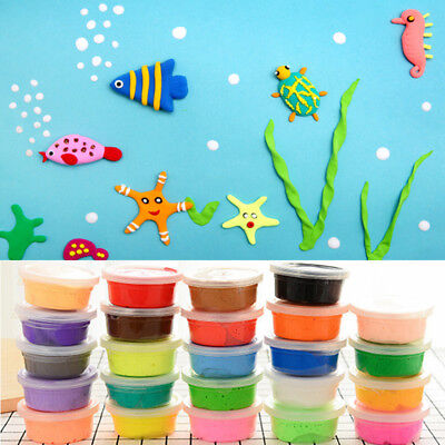 DIY Creative Rubber Mud Putty Slime Play Dough Plasticine Clay Kids Toys Games