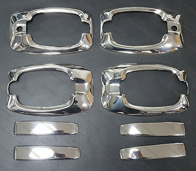 FIAT DUCATO 2006+Onwards CHROME DOOR HANDLES COVERS 4pcs STAINLESS STEEL NEW