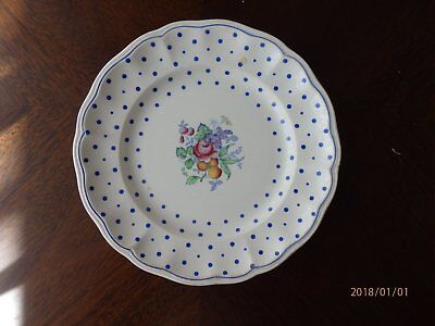 Beautiful Copeland Spode Polka Dot Lunch Plate