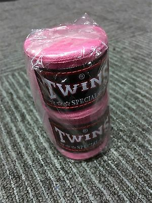 Twins Special Boxing Pink Hand Wraps Ch-5 Muay Thai Kick Boxing Mma