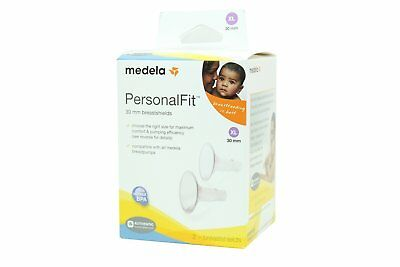 Medela PersonaFfit Breastshield Breast Shield Flange X-Large 30mm x2 87075 Open