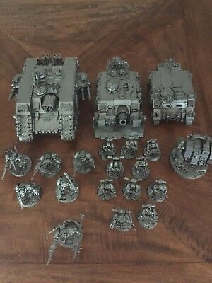 Warhammer 40k Chaos Space Marines Iron Warriors Army Games Workshop Models !!!
