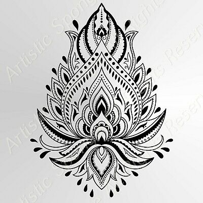 TREE OF LIFE Celtic Mandala BIG SIZES Reusable Stencil Wall Decor Bohemian M7