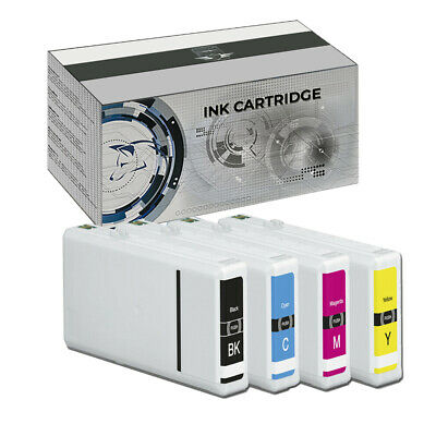 KIT 4 cartucce per Epson WorkForce Pro WP-4015 4025 4095 4515 4525 4535 4595
