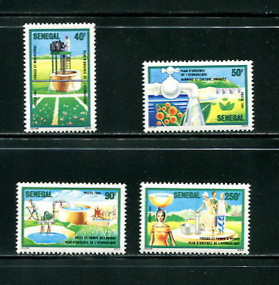 Senegal  1985  #630-3  water resources   4v. MNH  F010