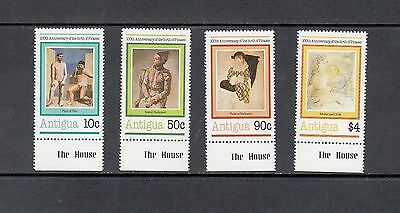 ART/PAINTINGS/PICASSO - Antigua   -1981 set of 4-  (SC 618-21)- MNH-Y234