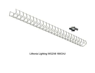 New Lithonia Lighting 4 Ft Wire Guard For Z Series Only Wgz48