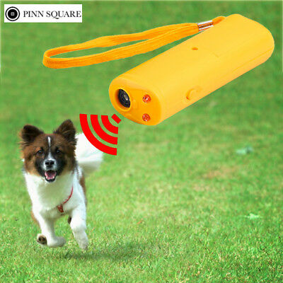 LED Ultrasonic Anti Bark Barking Dog Training Repeller Control Trainer device 3