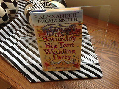 SIGNED No. 1 Ladies Detective Agency-Book 12-The Saturday Big Tent Wedding Party