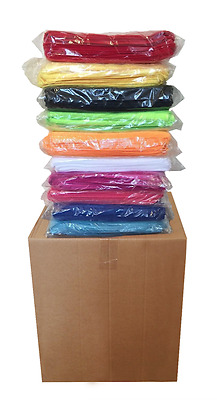 """240 Microfiber 12""""x12"""" Cleaning/Auto Detailing Cloths MIXED COLORS PRO GRADE"""