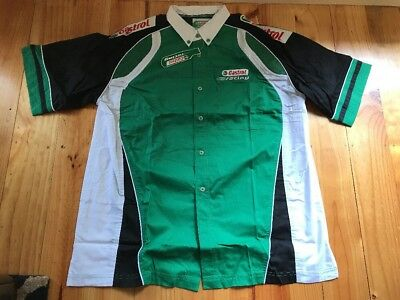 Castrol Racing Corporate Shirt Size XL New In Packet