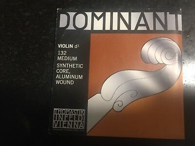 Thomastik Dominant Violin G String 4/4 For Advanced To Professional Violinists