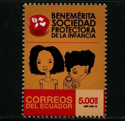Ecuador 2016 Schutz der Kinder Children Protection MNH