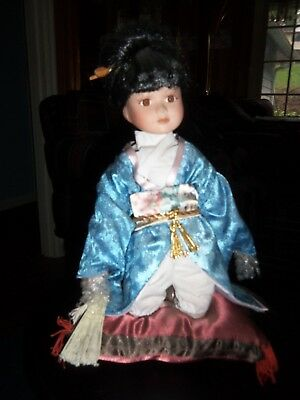 Oriental Chinese Porcelain Doll
