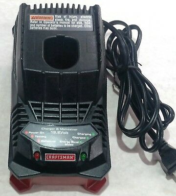 """blem"" Craftsman C3 19.2 Volt Dual Chemistry Charger 315.ch2021 Lithium-Ion Nicd"