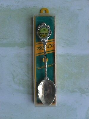 Stuart Darnum Musical Village Vic Silverplate Spoon Made In New Zealand