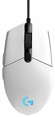 Logitech G203 Prodigy USB Optical Gaming Mouse - White