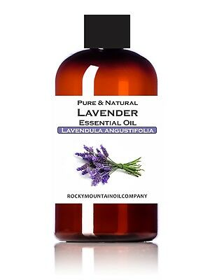 LAVENDER ESSENTIAL OIL 100% PURE & NATURAL THERAPEUTIC GRADE 1 2 4 16 oz