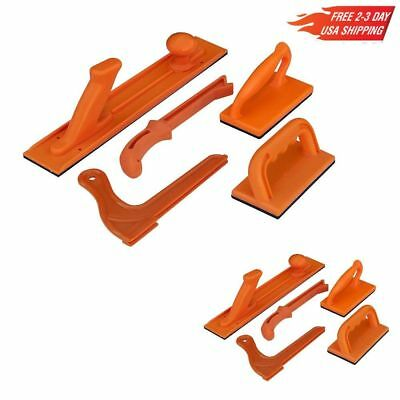 POWERTEC 71009 Safety Push Block and Stick Package, 5-Piece, New, Free Ship