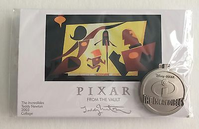 THE INCREDIBLES From the Vault Pin & Print LE 750 Disney Pixar Pin Party 2016
