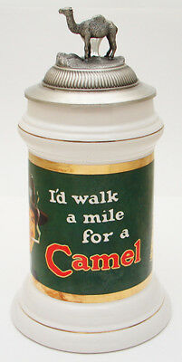 Beer Stein Mug Camel I'D Walk A Mile Limited Edition Collectors Stein