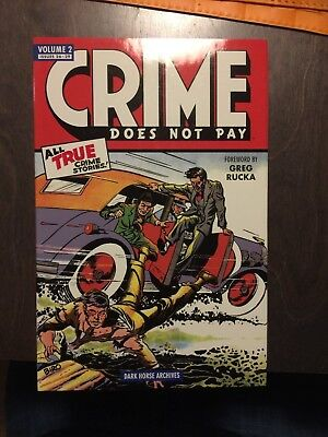 Crime Does Not Pay Volume 2 Dark Horse Archives, Hardcover