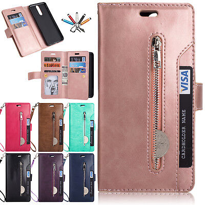 For Huawei Mate 9 10 Lite/Pro Magnetic Leather Card Slot Wallet Stand Case Cover