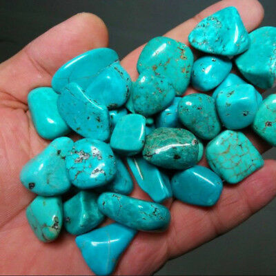 100g Natural Beauty Blue Turquoise Rock Polished Rough Specimen Stone Nugget