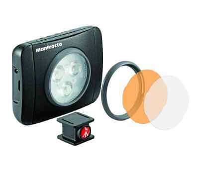Manfrotto Lumimuse 3 On-Camera LED Light and Accessories  (Black)